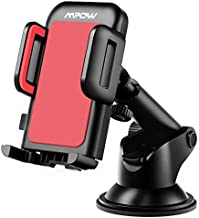 Mpow Car Phone Mount, Dashboard Car Phone Holder, Washable Strong Sticky Gel Pad with One-Touch Design Compatible iPhone Xs/XS MAX/XR/X/8/8Plus/7/7Plus/6/6Plus, Galaxy S7/8/9/10, Google Nexus