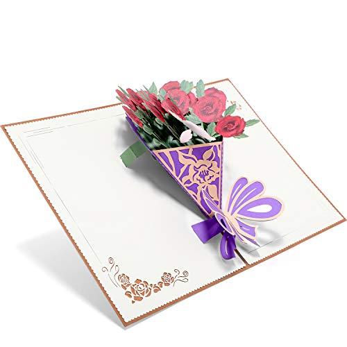 PaperSpiritz3Dポップアップカード、母の日カード、誕生日カード、記念日は、あなたがよく得て、結婚カード、すべての機会、手作りの贈り物