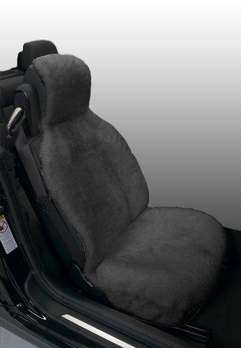 Eurow Genuine Australian Sheepskin Sideless Seat Cover