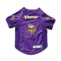 Littlearth NFL Minnesota Vikings Pet Stretch Jersey, Medium