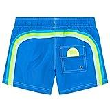 SUNDEK -Pantaloncini Costume da Mare/Piscina -BS/RB-Elastic WAIS- Bambino/Ragazzo, Blu Navy, 10 Anni
