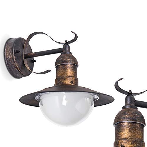 Lámpara de pared para exterior Broni