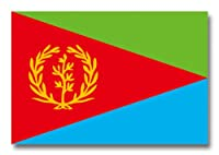 世界の国旗ポストカードシリーズ <アフリカ> エリトリア国 Flags of the world POST CARD <Africa> State of Eritrea