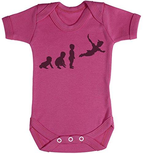Baby Evolution to Pan Body bébé - Gilet bébé - Body bébé Ensemble-Cadeau - Naissance Rose