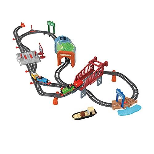 Thomas & Friends Trackmaster, Pista Día en Sodor, Juguetes para niños de 3 años en adelante