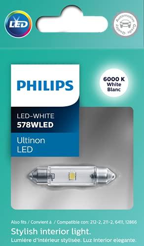 Philips 578WLED Ultinon LED Bulb (White), 1 Pack