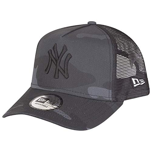 New Era Adjustable Trucker Cap - New York Yankees Dark camo