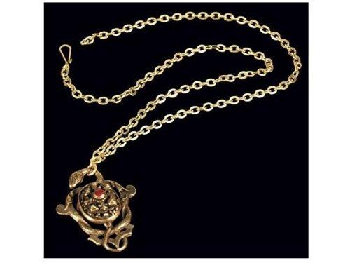 Disney Pirates Of The Caribbean Captain Hector Barbossa Pendant Replica (accesorio de disfraz)