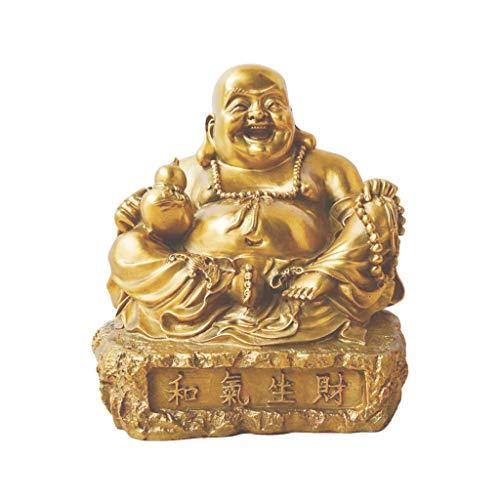 Ornements en cuivre pur Maitreya Cadeaux à l'ouverture d'entreprises haut de gamme Planification de la richesse