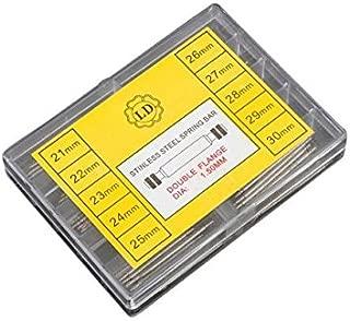 170 Pcs 21-30mm Watch Band Spring Bars Strap Link Pins Wactchmaker Tool