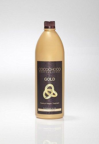 COCOCHOCO Gold 33.8 fl oz - contains 24k Liquid Gold - New Improved Anti Frizz Formula - Vegan by COCOCHOCO