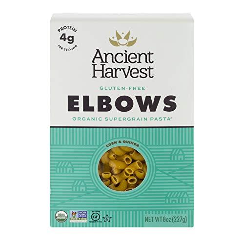 Ancient Harvest Organic Gluten Free Supergrain Pasta, Elbows (Box), 8 Ounce