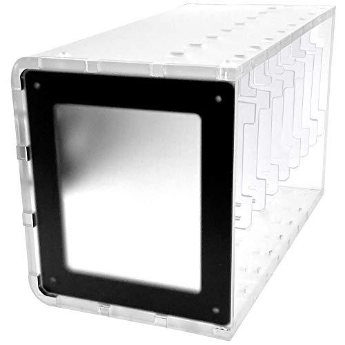 C4Labs Cloudlet CASE:Raspberry Piおよびその他のシングルボードコンピューター用クラスターケース - ミス...
