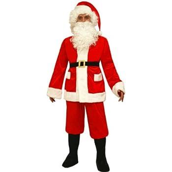 Abito Babbo Natale.Vestito Di Babbo Natale Adulto Men Xxx Large Amazon It Giochi E Giocattoli