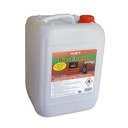 Bioetanolo 10 lt combustibile ecologico ,naturale biocamino