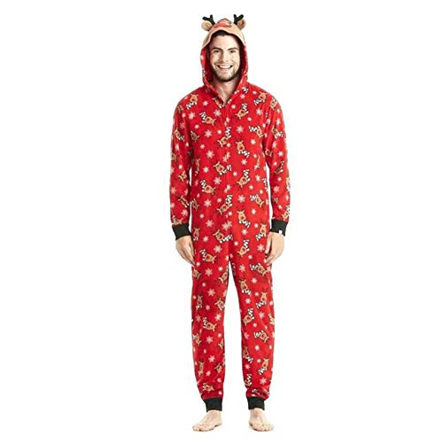 Conjunto de pijamas para Navidad de Navidad, traje de noche de Papá Noel, traje de Navidad clásico a cuadros, para adultos y niños recién nacidos