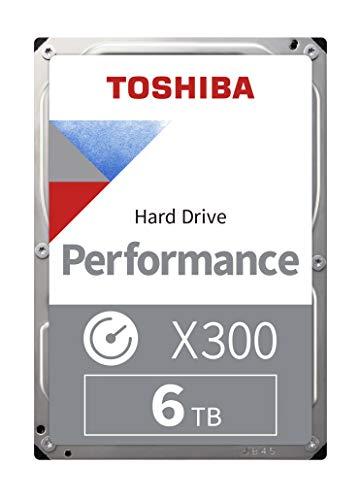 Toshiba X300 6 TB Interne Festplatte (8,9 cm (3,5 Zoll), SATA) schwarz