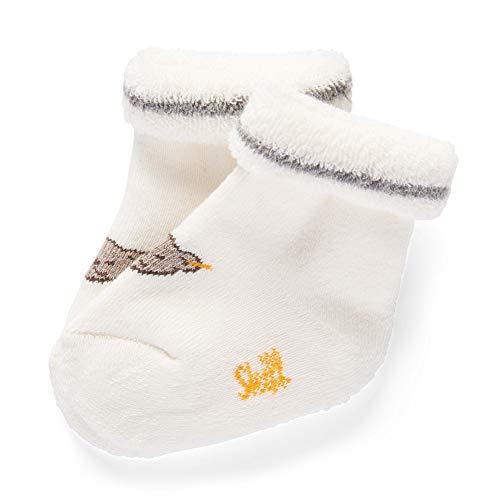 Steiff Baby-Unisex Socken, Weiß (Cloud Dancer 1001), 16 (Herstellergröße: 016)