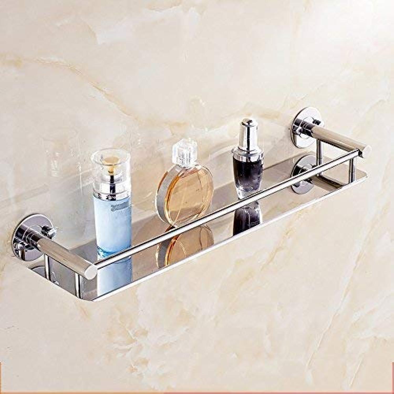 Wghz Stainless Steel Bathroom Rack (color   Shelf 60cm)
