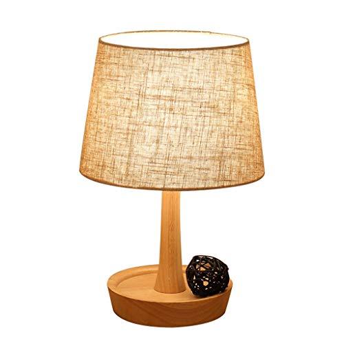 Lampe de bureau Style nordique moderne Designs simples Lampes de table Salon Décor Chambre Lumière de chevet En bois