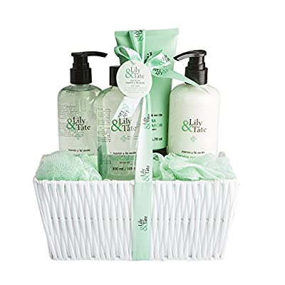 7 Piece Lily & Tate Luxury Spa Bath Shower Wash collection