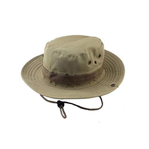 Bucket Hat Chapeau Chapeaux De Seau Unisexe Jungle Militaire Camouflage Camo Chapeau Pêche Barbecue Coton Escalade De Montagne Chapeau Darkkhaki
