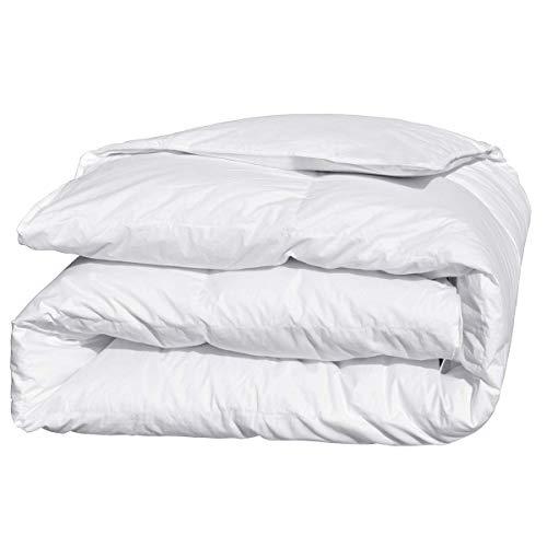 Downcy - Edredón nórdico de plumón blanco 700 Fill Power para cama king size...