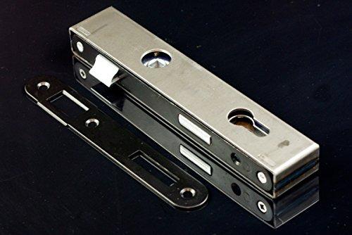 Einsteckschloss 90/22 mm mit Schlosskasten 40 und Gegenplatte PZ