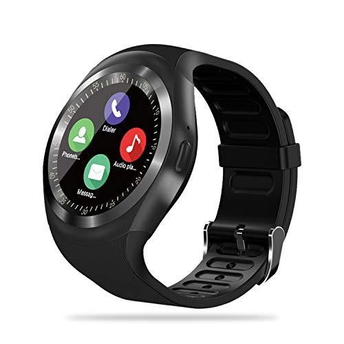 FENHOO Smartwatch, Reloj Inteligente para Hombre Mujer niños con Ranura para Tarjeta SIM, Pulsera de Actividad Inteligente con podómetro Llamada Notificación de Mensajes Smartwatch para Android