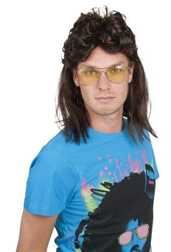Perruque punk herrenperücke déguisement pour homme