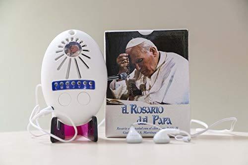 Rosario del Papa ELECTRONICO con Auricul