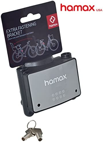 Hamax Lockable Fastening Bracket for Rear Child Bike Seat Perfect for Second Bike product image