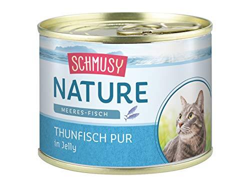 Schmusy Nature Meeres-Fisch Thunfisch Pur 12x185g