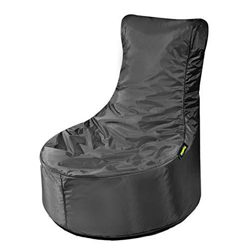 Pushbag - Sitzsäcke in Schwarz, Größe 80 x 70 cm