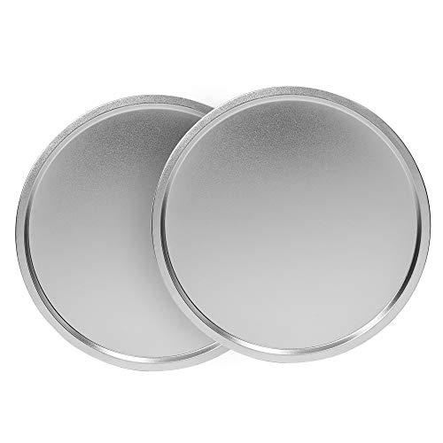 EZ Baker - Molde de acero duradero de 14 pulgadas, juego de 2 – hecho en Estados Unidos, superficie de cocción natural que se calienta uniformemente para obtener resultados...