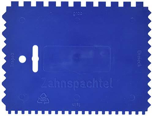 KWB Kunststoff-Zahnspachtel, 032900 (4-seitig gezahnt, 180 x 130 mm)
