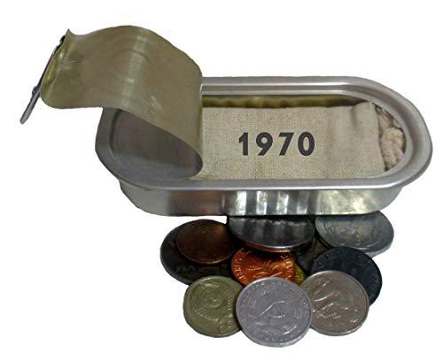 WallaBundu Geschenkidee zum 50. Geburtstag 12 Münzen auch BRD