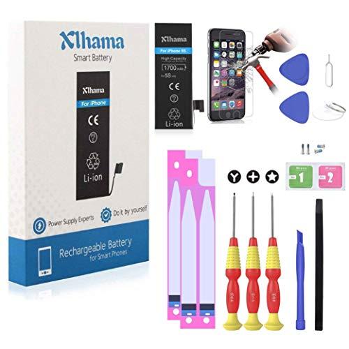 Xlhama Batería Alta Capacidad Li-ion 1700mAh Compatible para iPhone 5S con...