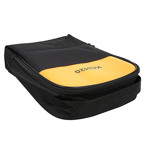 Exquisito Accesorio portátil Bolsa de Almacenamiento de osciloscopio Suave para Pinza amperimétrica Apta para osciloscopio de Fluke