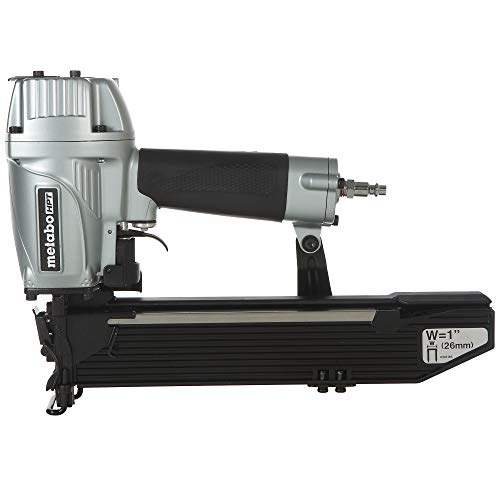Metabo HPT Pneumatic Stapler, 1-Inch Wide Crown, 16 Gauge, 1-Inch up to 2-Inch Staple Length, High Capacity Magazine, 5-Year Warranty (N5024A2)