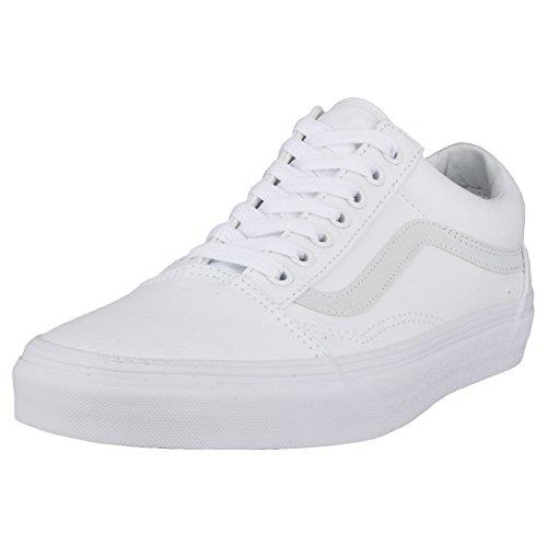 Vans Old Skool(tm) Core Classics, True White, Men's 9, Women's 10.5 Medium