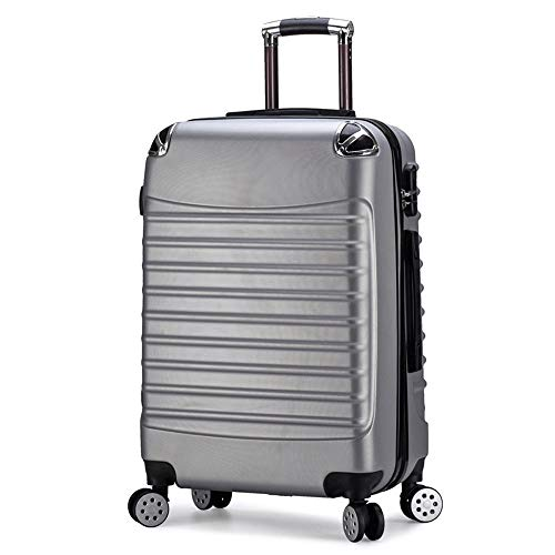 Ang-xj New package angle 20-24 inch trolley luggage suitcase abs universal wheel zipper travel case boarding case waterproof,wear-resistant,anti-theft shipping box boarding case
