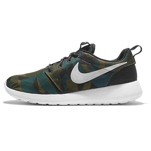 Nike Men's Roshe one Print Running Shoes, 10.5 UK Brown