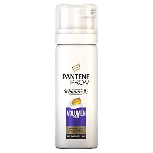 Pantene Pro-V Schaum-Pflegespülung Volumen Pur für Feines, plattes Haar, 6er Pack (6 x 50 ml)