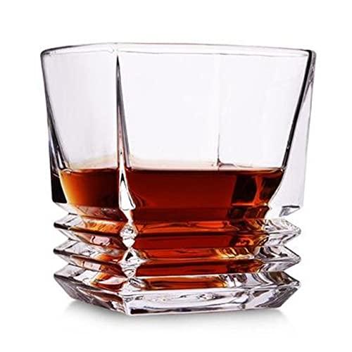 WLCO Retro Rojo Botella de Vino champán Vino Vino aireador Jarra de garrafe decantador Whisky Agua Jarra de Agua cóctel vulner aireador para Barra Familiar Taza de espíritu Transparente 616