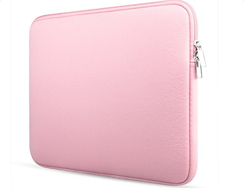 Demarkt Ultra Thin and Strong Laptop Bags Case For Laptop/Ultrabook Computer Bag 13 Inches (Pink)