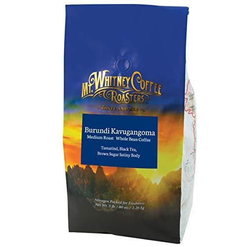 Mt. Whitney Burundi Kavugangoma Coffee (Whole Bean, 5 Lb)