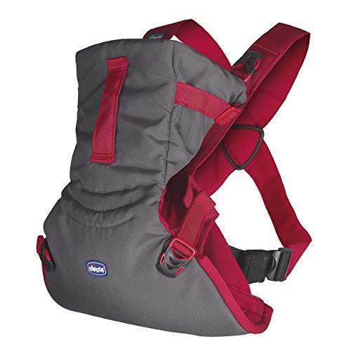 Chicco Easy Fit Mochila ergonómica portabebé, de 0 a 9 kg, color rojo