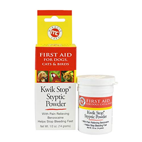 Miracle Care Kwik Stop Styptic Powder  0.5 Oz