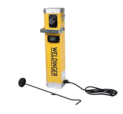 WELDINGER Elektrodenofen für Stabelektroden (Elektrodentrockner 230 V max. 5 kg Stabelektroden)